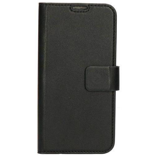 Produktimage des Mobiparts Classic Wallet Case Schwarz Samsung Galaxy A40