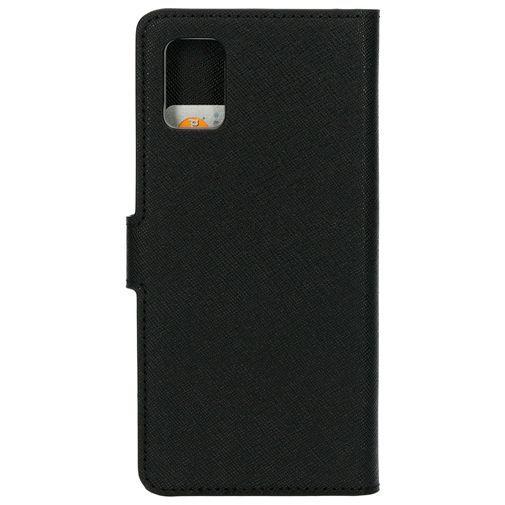 Produktimage des Mobiparts Classic Wallet Case Schwarz Samsung Galaxy A51 4G
