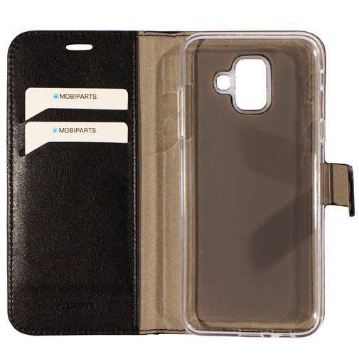 Productafbeelding van de Mobiparts Classic Wallet Case Black Samsung Galaxy A6