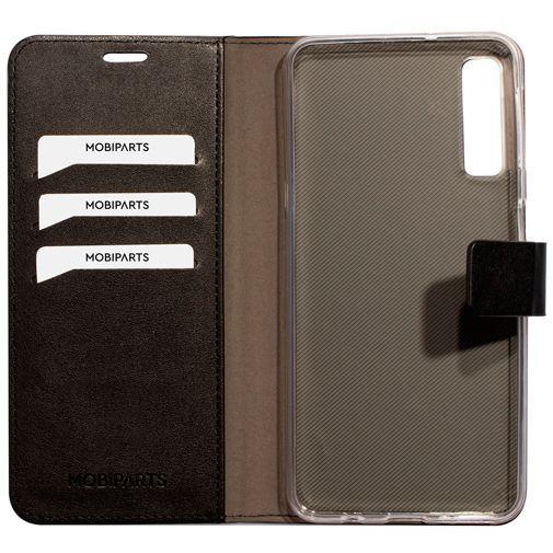 Productafbeelding van de Mobiparts Classic Wallet Case Black Samsung Galaxy A7 (2018)
