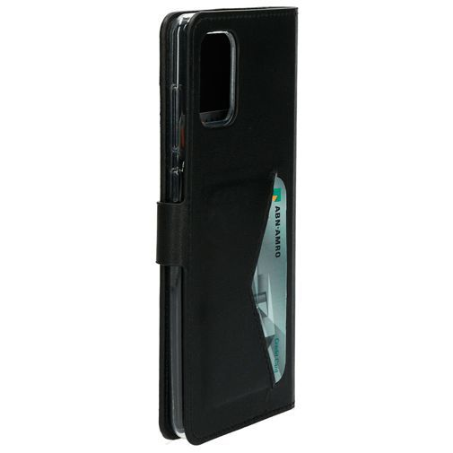 Produktimage des Mobiparts Classic Wallet Case Schwarz Samsung Galaxy A71