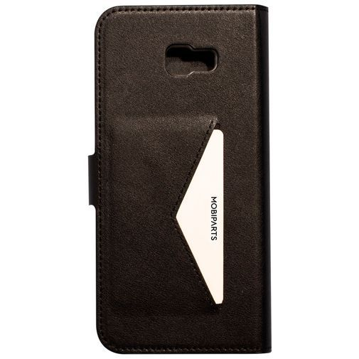 Produktimage des Mobiparts Classic Wallet Case Schwarz Samsung Galaxy J4+