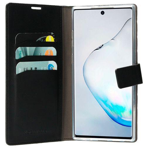 Produktimage des Mobiparts Classic Wallet Case Black Samsung Galaxy Note 10+