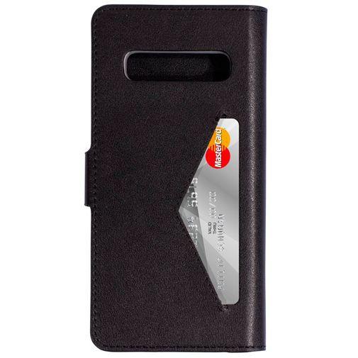 Productafbeelding van de Mobiparts Classic Wallet Case Black Samsung Galaxy S10 G973