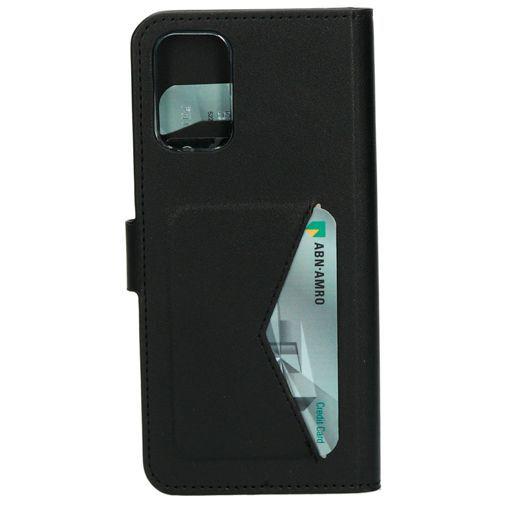 Produktimage des Mobiparts Classic Wallet Case Schwarz Samsung Galaxy S20+