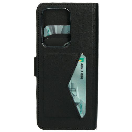 Productafbeelding van de Mobiparts Classic Wallet Case Black Samsung Galaxy S20 Ultra