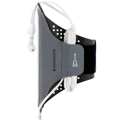 Productafbeelding van de Mobiparts Comfort Fit Sport Armband Apple iPhone 11 Black