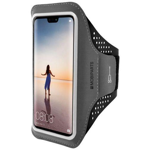 Productafbeelding van de Mobiparts Comfort Fit Sport Armband Black Huawei P20 Lite