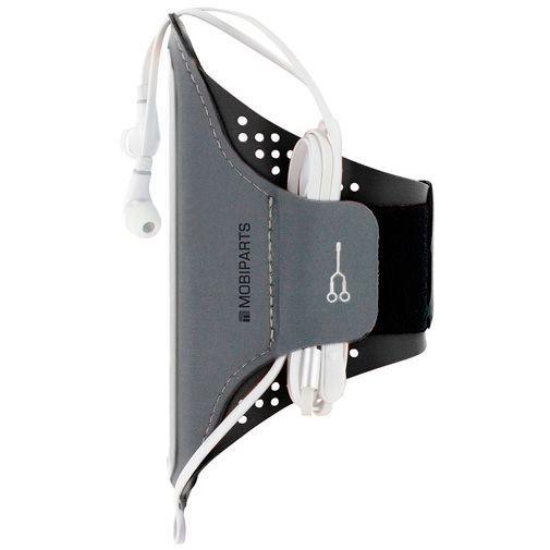 Produktimage des Mobiparts Comfort Fit Sport Armband Schwarz Huawei P20 Lite