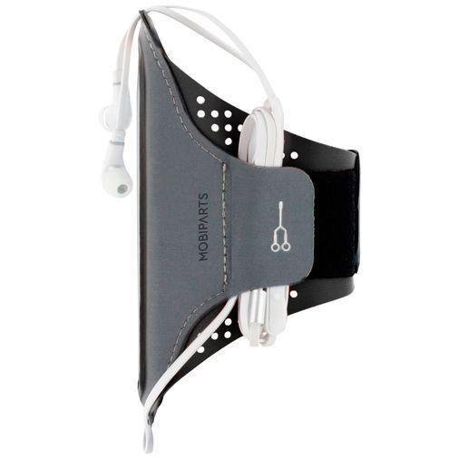 Productafbeelding van de Mobiparts Comfort Fit Sport Armband Black Samsung Galaxy A40