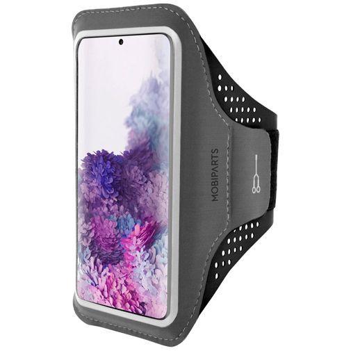 Productafbeelding van de Mobiparts Comfort Fit Sport Armband Black Samsung Galaxy S20+