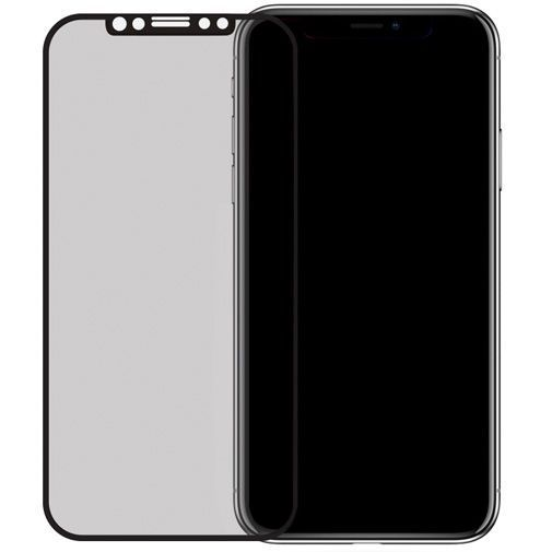 Produktimage des Mobiparts Curved Glass Displayschutzfolie Apple iPhone X/XS/11 Pro