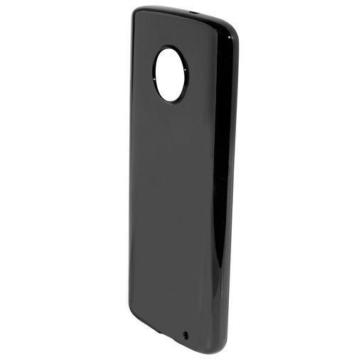 Productafbeelding van de Mobiparts Essential TPU Case Black Motorola Moto G6 Plus