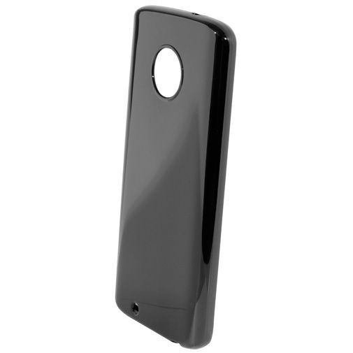 Productafbeelding van de Mobiparts Essential TPU Case Black Motorola Moto G6