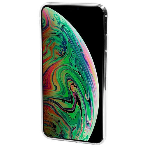 Productafbeelding van de Mobiparts Essential TPU Case Transparent Apple iPhone XS Max