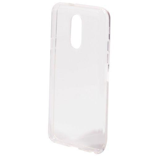 Productafbeelding van de Mobiparts Essential TPU Case Transparent LG Q7