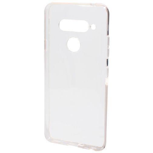 Productafbeelding van de Mobiparts Essential TPU Case Transparent LG V40 ThinQ