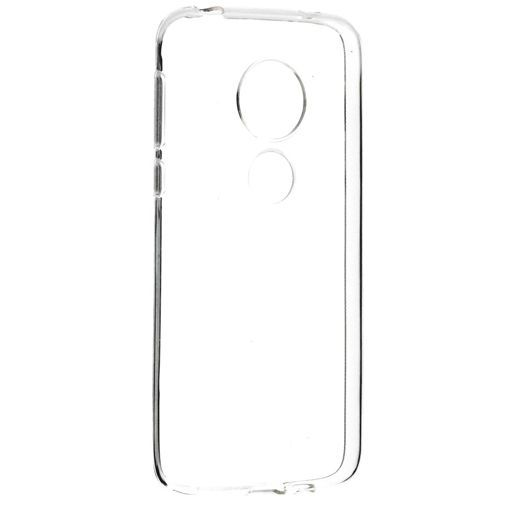 Productafbeelding van de Mobiparts Essential TPU Case Transparent Motorola Moto G7 Play