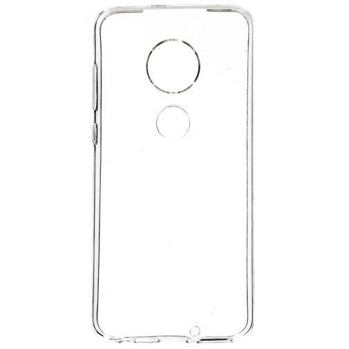 Produktimage des Mobiparts Essential TPU Hülle Transparent Motorola Moto G7/G7 Plus