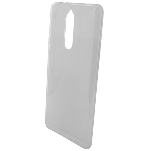 Productafbeelding van de Mobiparts Essential TPU Case Transparent Nokia 8