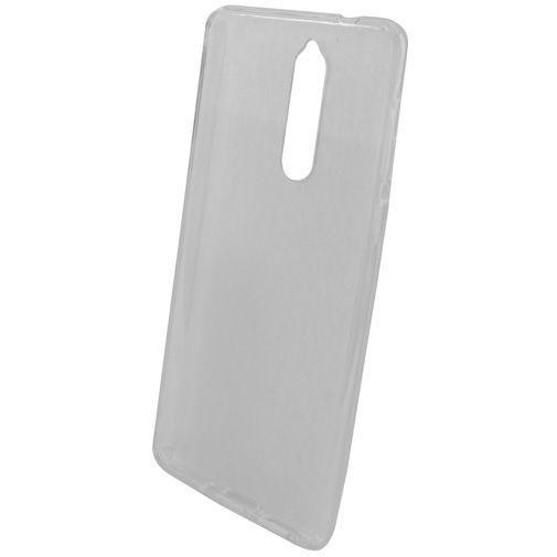 Produktimage des Mobiparts Essential TPU Hülle Transparent Nokia 8