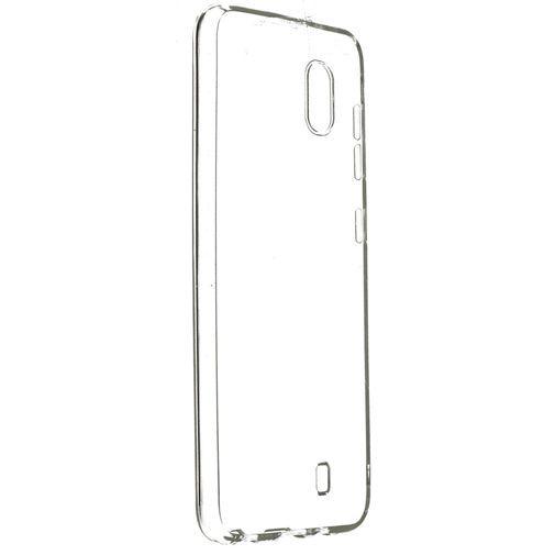 Produktimage des Mobiparts Essential TPU Hülle Transparent Samsung Galaxy A10