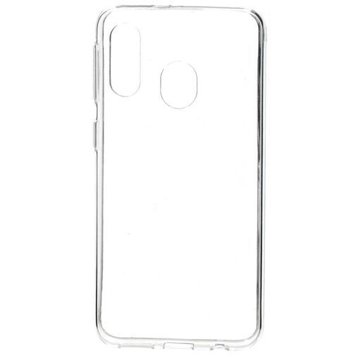 Produktimage des Mobiparts Essential TPU Hülle Transparent Samsung Galaxy A40