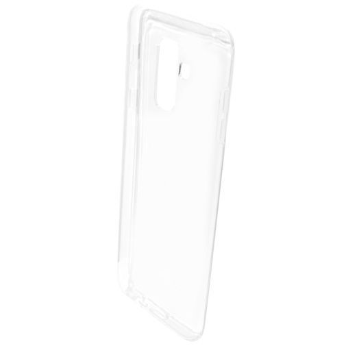 Productafbeelding van de Mobiparts Essential TPU Case Transparent Samsung Galaxy A6+