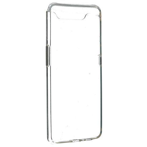 Productafbeelding van de Mobiparts Essential TPU Case Transparent Samsung Galaxy A80