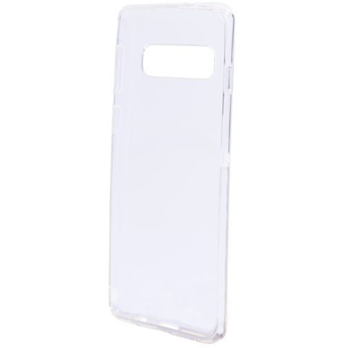 Produktimage des Mobiparts Essential TPU Hülle Transparent Samsung Galaxy S10