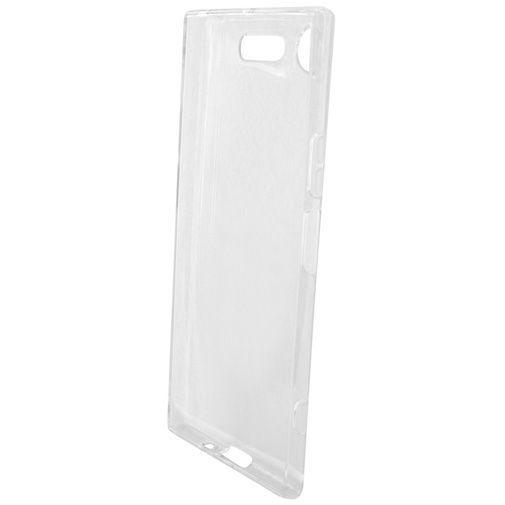 Productafbeelding van de Mobiparts Essential TPU Case Transparent Sony Xperia XZ1