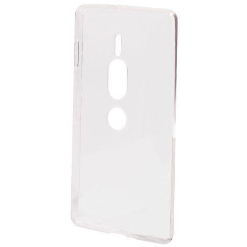 Productafbeelding van de Mobiparts Essential TPU Case Transparent Sony Xperia XZ2 Premium
