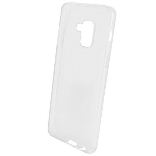 Produktimage des Mobiparts Essential TPU Hülle Transparent Galaxy A8 (2018)