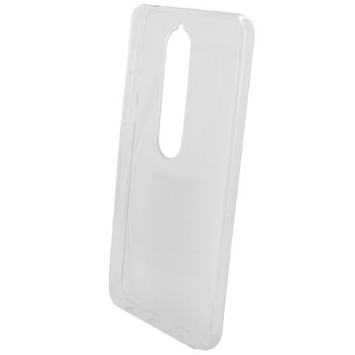 Productafbeelding van de Mobiparts Essential TPU Case Transparent Nokia 6.1
