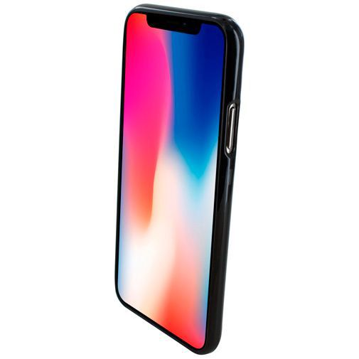 Productafbeelding van de Mobiparts Essential TPU Case Black Apple iPhone X/XS