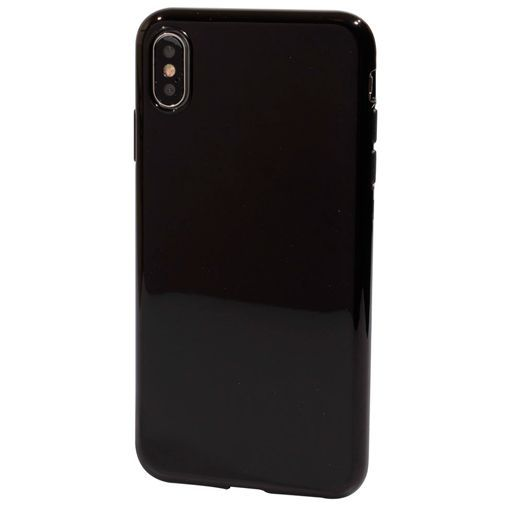 Produktimage des Mobiparts Essential TPU Hülle Schwarz Apple iPhone XS Max