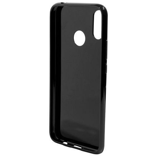 Produktimage des Mobiparts Essential TPU Hülle Schwarz Huawei P Smart+/Huawei Nova 3i