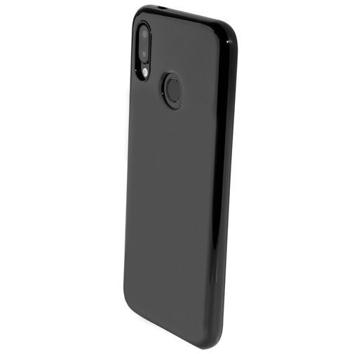 Produktimage des Mobiparts Essential TPU Hülle Schwarz Huawei P20 Lite