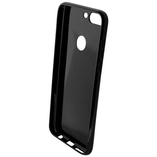 Productafbeelding van de Mobiparts Essential TPU Case Black Huawei Y7 (2018)