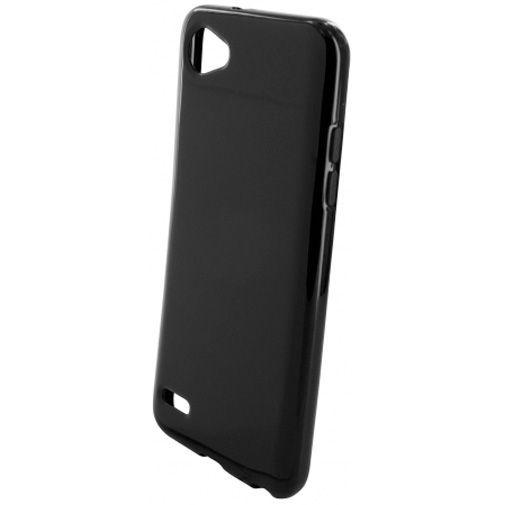 Productafbeelding van de Mobiparts Essential TPU Case Black LG Q6 (Alpha)