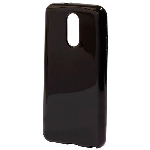 Productafbeelding van de Mobiparts Essential TPU Case Black LG Q7