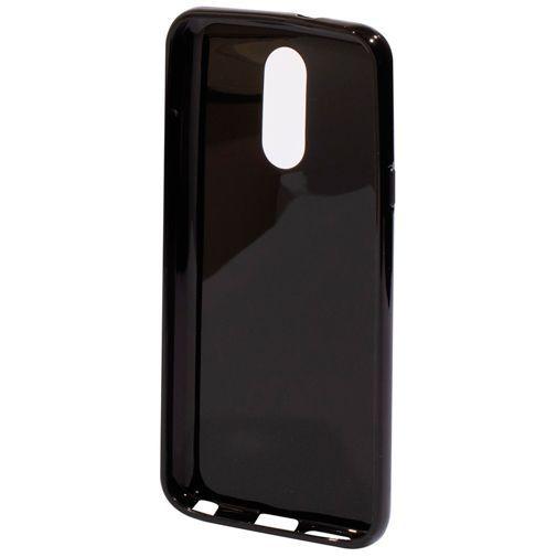 Produktimage des Mobiparts Essential TPU Hülle Schwarz LG Q7