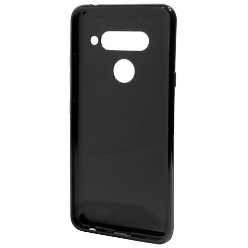 Produktimage des Mobiparts Essential TPU Hülle Schwarz LG V40 ThinQ