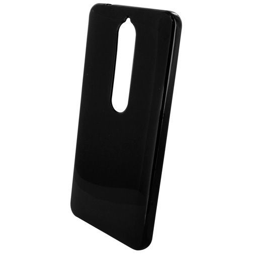 Produktimage des Mobiparts Essential TPU Hülle Schwarz Nokia 6.1