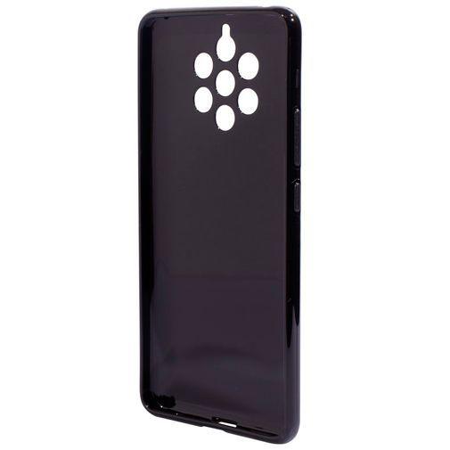 Produktimage des Mobiparts Essential TPU Hülle Schwarz Nokia 9 PureView