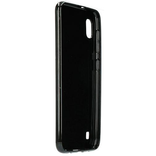 Produktimage des Mobiparts Essential TPU Hülle Schwarz Samsung Galaxy A10