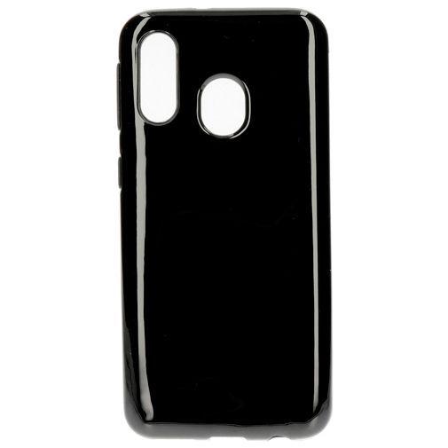 Produktimage des Mobiparts Essential TPU Hülle Schwarz Samsung Galaxy A40