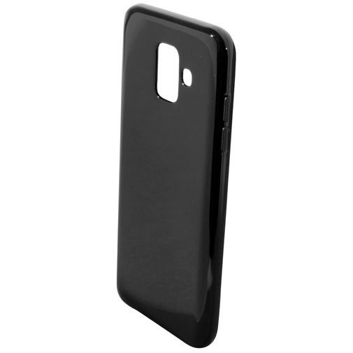Productafbeelding van de Mobiparts Essential TPU Case Black Samsung Galaxy A6