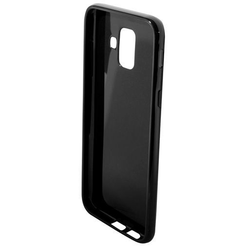 Produktimage des Mobiparts Essential TPU Hülle Schwarz Samsung Galaxy A6