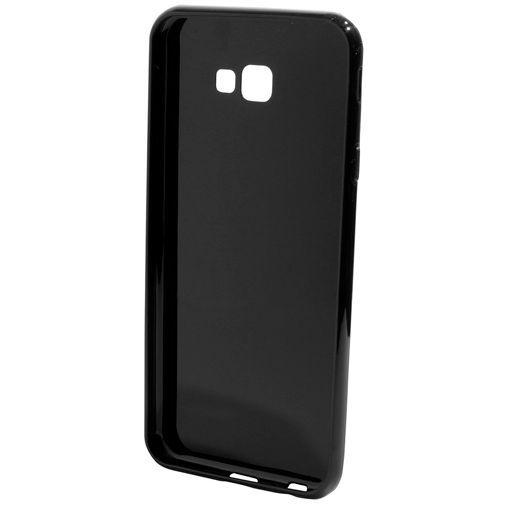 Produktimage des Mobiparts Essential TPU Hülle Schwarz Samsung Galaxy J4+